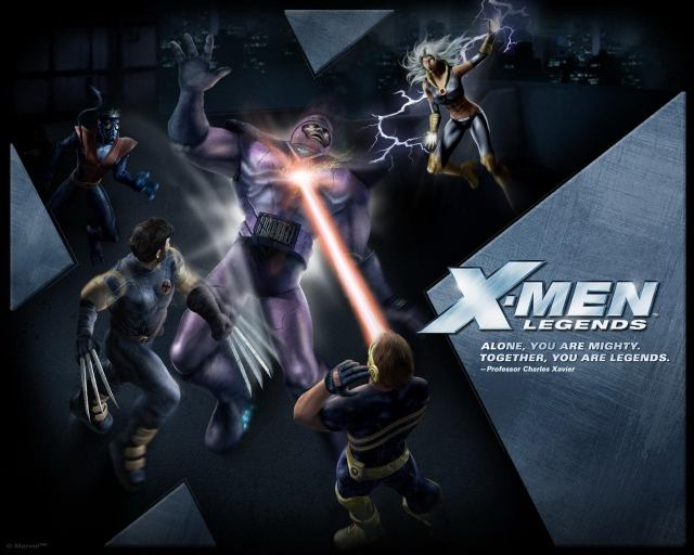 x men legends