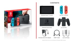 The Official Specs Of The Switch