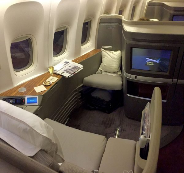flight review cathay pacific