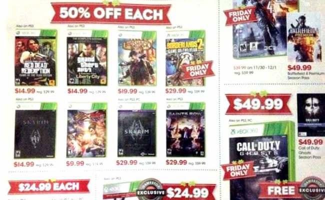 Gamestop Black Friday 2013 Ad Find The Best Gamestop