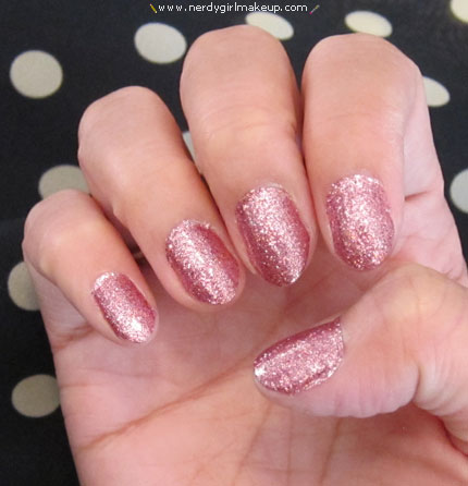 Nerdy Girl Makeup  Blog Archive  Sally Hansen Salon Effects Nail Polish Strips in Bling It On