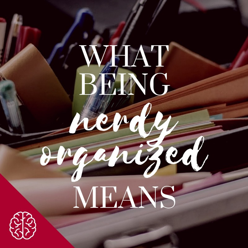 What Is Nerdy Organized?