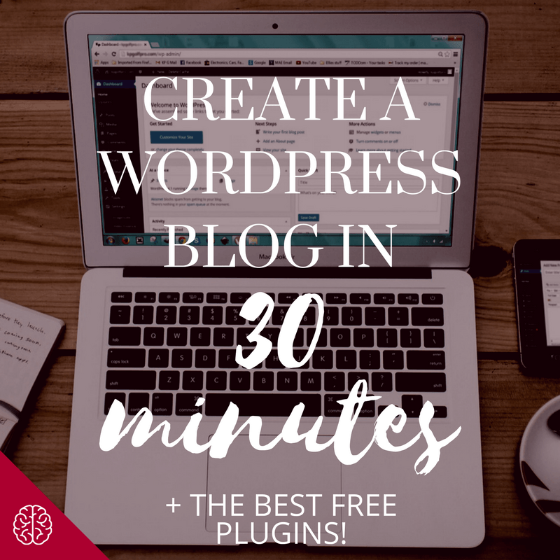 Create a Blog in 30 Minutes with Bluehost