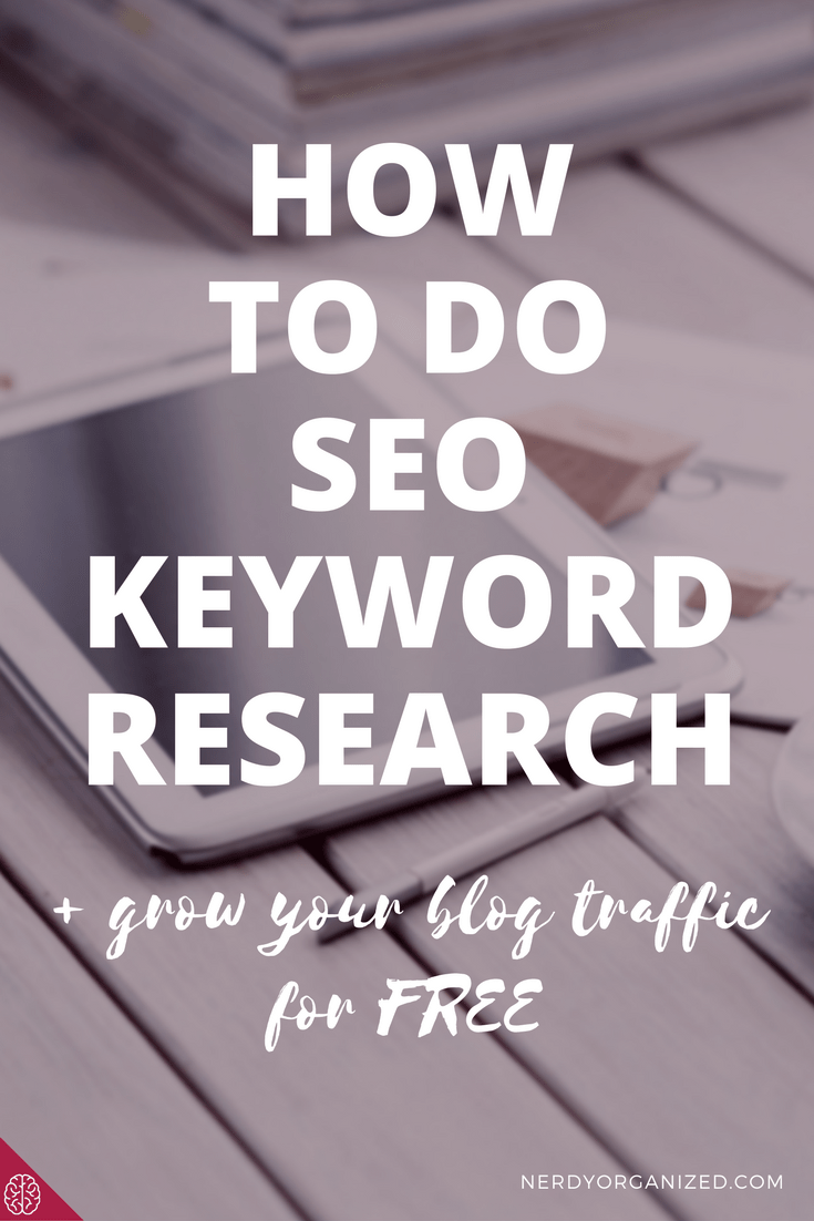 how to do blog seo keyword research