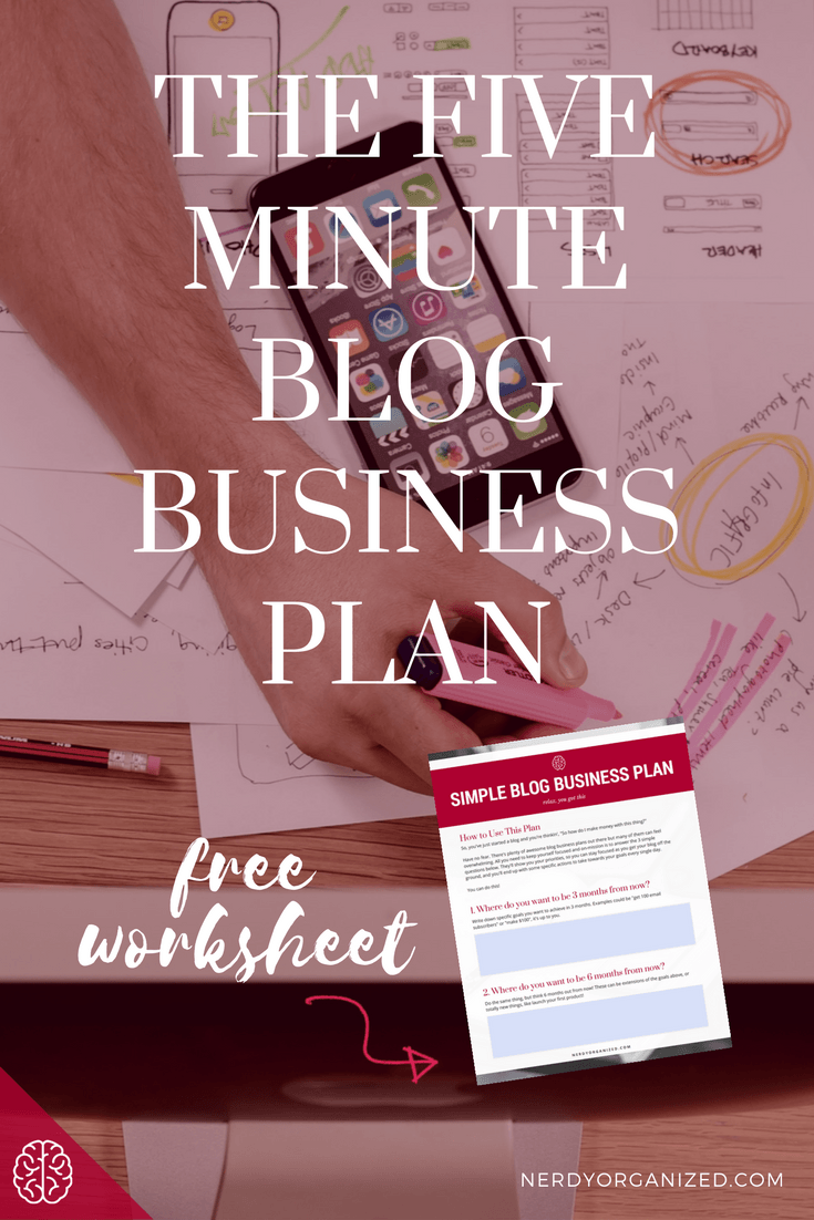 Simple Blog Business Plan