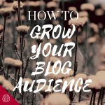 How to Grow Your Blog Audience (The Easy Way)