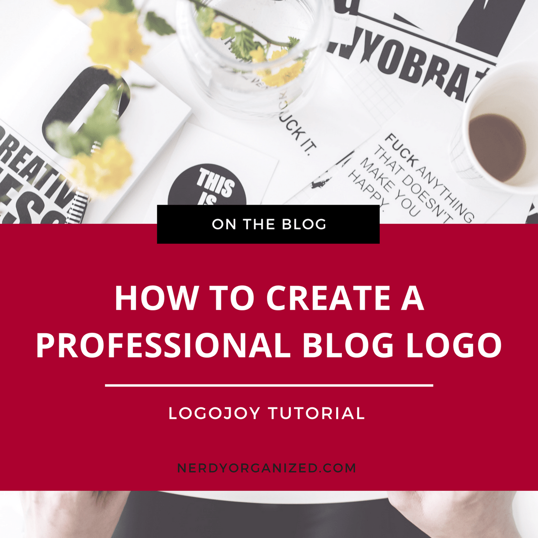 Create a Blog Logo on LogoJoy