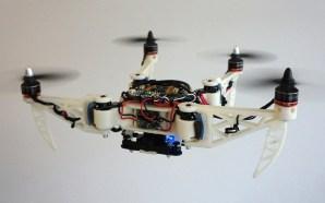 Drone pode dobrar-se em pleno Voo