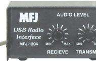 MFJ-1204 –  USB TO RIG SC INTERFACE, W/8-PIN DIN,DATA/ACC PORT