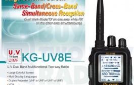 Wouxun KG-UV8E – TRI-BAND