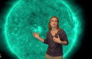 Goodbye Bright Flares, Hello Dark Hole: Solar Storm Forecast 01-31-2019