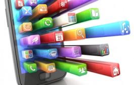Shortwave radio distributes smartphone apps