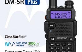 2017 BaoFeng DMR Upgraded Version! BaoFeng DM-5R PLUS Dual Band DMR Digital Radio 2000mAH