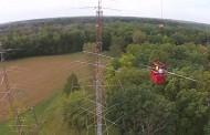 How to install a Horizontal Waller Flag antenna at 150 foot
