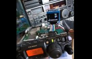 Yaesu FT 817 – CAT, CW decoder, waterfall, frequency readout, audio filter and audio recording.