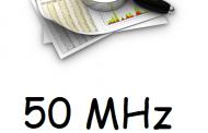 Overview of 50 MHz status in ITU Region 1  (2016)