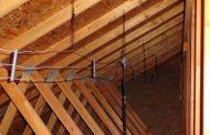 Indoor Attic Dipole Antenna for Ham Radio & CQ Antennas Center Insulators