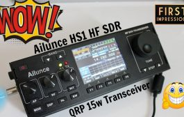 Ailunce HS1 First Impressions HF SDR Radio!