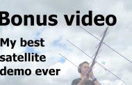 My best Satellite Demo Ever – 18 QSOs