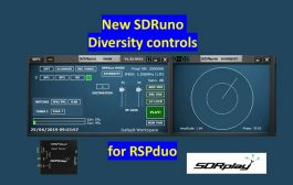 Video showing the suppression of a local noise source using a RSPduo and release 1.32 of SDRuno