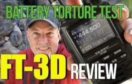 Yaesu FT3D Full Review and Battery Torture Test