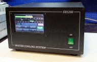 HF/6m linear amplifier 1200W with 5″ touch screen control heat pipes cooling system