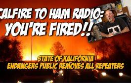 California declares Ham Radio no longer a benefit, severs ties across the state.