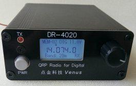 DR4020 Dual band Digital QRP radio