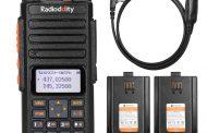 RADIODDITY GA-510   10W   DUAL BAND   TRI-POWER   ANALOG RADIO   2 BATTERIES
