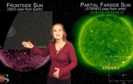 A Fleeting Sunspot & A Familiar Hole   Space Weather News 12-19-2019