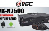 VERO VR-N7500 50W Dual Band Mobile Radio With APP Programming