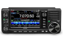 New release of portable transceiver IC-705 that covers all modes including DV (digital voice) from HF to 430MHz band .