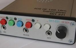 SKY-221 SDR HF 160 -10m Transceiver