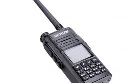 Retevis DMR Dual Band GPS radio RT72