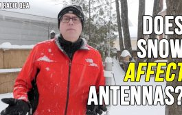 Does Snow Affect Vertical Antenna Performance – Ham Radio Q&A