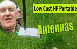 Low Cost HF Portable Antennas