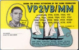 International Group to Reactivate the Legendary Yasme VP2VB Call Sign