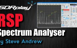 RSP Spectrum Analyser Software for SDRPlay SDR Receivers