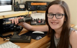 Llanelli 10-year-old one of the youngest to gain amateur radio licence