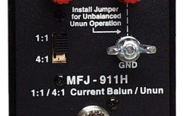 MFJ-911H Balun Review 160-10 meters 300W