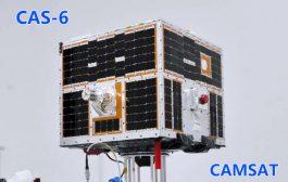 CAS-6 antenna deployed, transponder activated