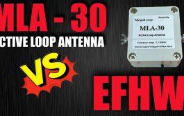 MLA-30 Active HF Loop Antenna
