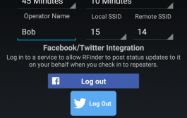 RFinder – The World Wide Repeater Directory now supports Twitter!