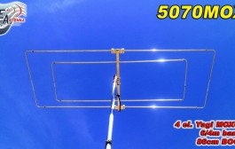 New Antenna 50 and 70MHz – 4 el Moxon