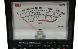 MFJ-868B  GIANT HF + 6M, SWR/WATTMETER