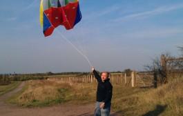 Kite antenna for 160-10m – Oceania DX Contest