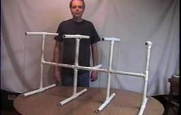 2 Meter Quad PVC Pipe Antenna by KG0ZZ
