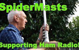 Easy Ham Radio Mast System – Spidermast from Spiderbeam