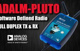 ADALM PLUTO Full Duplex Software Defined Radio