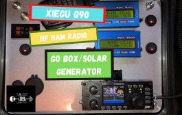 Xiegu G90 HF Ham Radio Go Box/Solar Generator